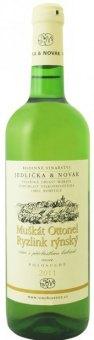 Víno bílé MO + RR Cuvée Vinařství Jedlička&Novák - kabinetní