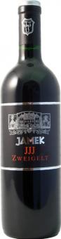 Víno Blauer Zweigelt Jamek