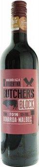 Víno Bonarda - Shiraz Butcher's Block Marks & Spencer