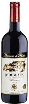 Víno červené Bordeaux Baron de Rais