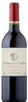 Víno červené Bordeaux Château La Goutère