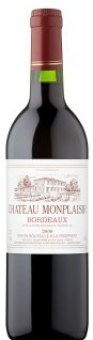Víno červené Bordeaux Château Monplaisir