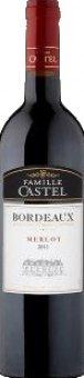 Víno Merlot Bordeaux Famille Castel