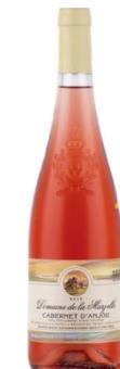 Víno Cabernet d'Anjou Domaine de la Marzelle