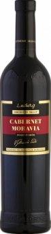 Víno Cabernet Moravia Archivní sklep Vinařství Ludwig - pozdní sběr