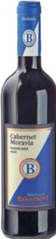Víno Cabernet Moravia Michaela Balounová - pozdní sběr