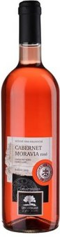Víno Cabernet Moravia Rosé Livi Dubňany