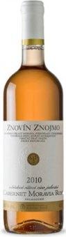 Víno Cabernet Moravia Rosé Znovín Znojmo