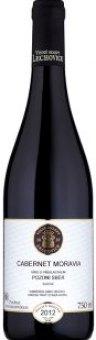 Víno Cabernet Moravia Vinné Sklepy Lechovice - pozdní sběr