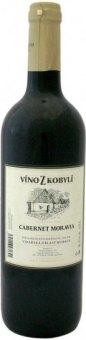 Víno Cabernet Moravia Víno z Kobylí