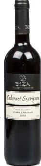 Víno Cabernet Sauvign Vinařství Bíza - pozdní sběr