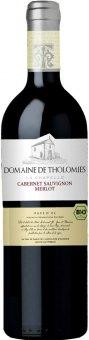 Víno Cabernet Sauvignon a Merlot Cuvée bio Domaine de Tholomies