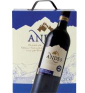 Víno Cabernet Sauvignon Andes - bag in box