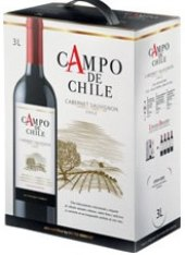 Víno Cabernet Sauvignon Campo de Chile - bag in box