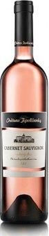 Víno Cabernet Sauvignon Rosé Chateau Topolčianky - pozdní sběr