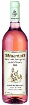 Víno Cabernet Sauvignon Rosé Chateau Valtice - pozdní sběr