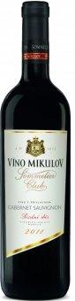 Víno Cabernet Sauvignon Sommelier Club Víno Mikulov - pozdní sběr