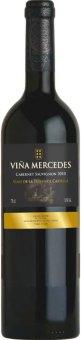 Víno Cabernet Sauvignon Viňa Mercedes