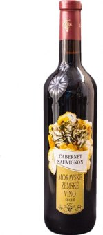 Víno Cabernet Sauvignon Vinařství Krist Milotice - zemské