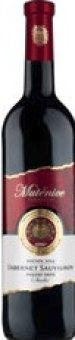 Víno Cabernet Sauvignon Vinařství Mutěnice - pozdní sběr