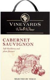 Víno Cabernet Sauvignon Vineyards World Wines - bag i box
