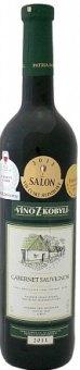 Víno Cabernet Sauvignon Víno z Kobylí - výběr z hroznů