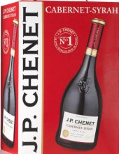 Víno Cabernet Syrah J. P. Chenet - bag in box