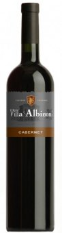 Víno Cabernet Villa Albinoni Budamont
