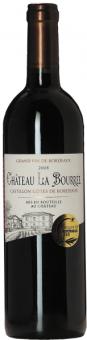 Víno Castillon Cotes Bordeaux Chateau La Bourrée