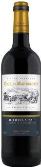 Víno červené Bordeaux Cour De Mandelotte