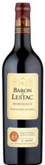 Víno červené Bordeaux Baron de Lestac