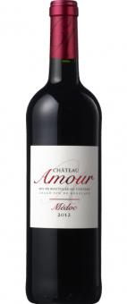 Víno červené Chateau Amour Médoc Bordeaux