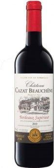Víno červené Chateau Cazat Beauchene Bordeaux