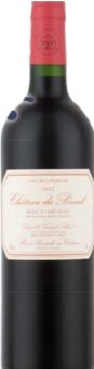 Víno červené Chateau Du Breuil Haut Médoc 2012