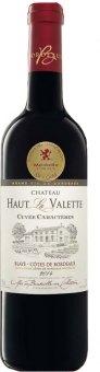 Víno červené Chateau Haut La Valette Bordeaux