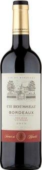 Víno červené Cuvée Bordeaux Ch Rousseau