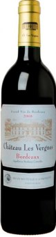 Víno červené Cuvée Bordeaux Château Les Vergnes