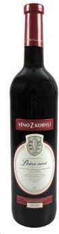 Víno červené Cuvée Víno z Kobylí - pozdní sběr