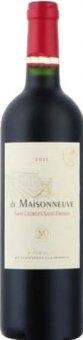 Víno červené Domaine de Maisonneuve Saint Georges Saint Emilion