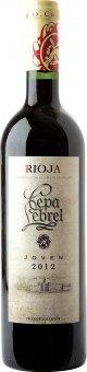 Víno červené Joven Rioja Cepa Lebrel