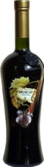 Víno červené Muscat