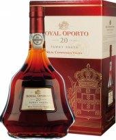 Víno červené portské 20 YO Royal Oporto Real Companhia Velha