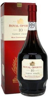 Víno červené portské 10 YO Royal Oporto Real Companhia Velha