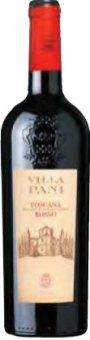 Víno červené Rosso di Toscana Villa Pani