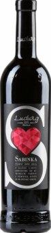 Víno červené Sabinka Vinařství Ludwig - pozdní sběr
