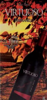 Víno červené Tempranillo Virtuoso
