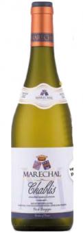 Víno Chablis Marechal Burgogne 2012