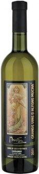 Víno Chardonnay Alfons Mucha Zámecké vinařství Bzenec - pozdní sběr