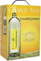 Víno Chardonnay Grand Sud - bag in box