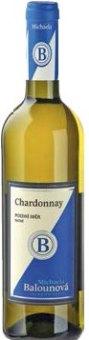 Víno Chardonnay Michaela Balounová - pozdní sběr